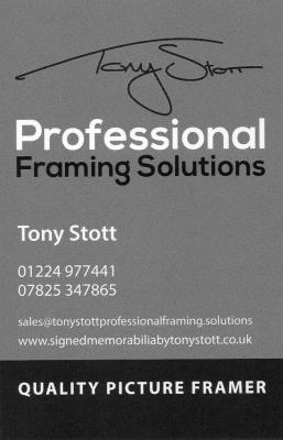 TONY STOTT PROFESSIONAL FRAMING SOLUTIONS